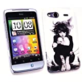 Kit Me Out UK Plastic Clip-on Case for HTC Salsa - Tattoo Girl
