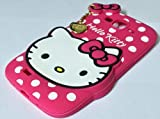 MACC Designer Soft Back Cartoon Cover Case Silicon 3D For Samsung Galaxy Grand 9082 - HK Pink