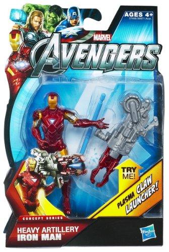 Imagen de Marvel Avengers Movie 4 pulgadas de acción figura artillería pesada de Iron Man