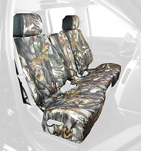Saddleman Front Custom Fit Seat Cover for Select Chevrolet Silverado 1500 Models - Camo Fabric (Camouflage) (S 289767-30) (Custom Fit Seat Covers Camo compare prices)
