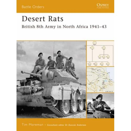 Desert Rats: British 8th Army in North Africa 1941-43 (Battle Orders) T. R. Moreman