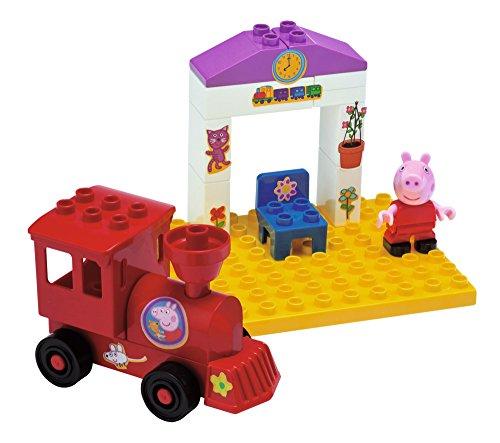 BIG 57072 - Playbig Bloxx Peppa Pig Zughaltestelle