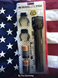 MAGLITE PRO LED Flashlight - with Batteries and Mounting Brackets