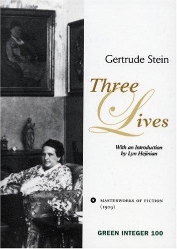 Three Lives (Green Integer)