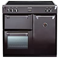 Stoves RICHMOND 900EI BLACK 900mm Electric Range Cooker Induction Hob Black