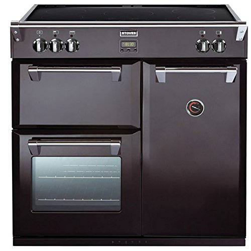 Stoves RICHMOND 900EI BLACK 900mm Electric Range Cooker Induction Hob Black