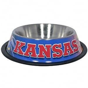 Buy Hunter MFG Kansas Jayhawks Dog Bowl by Hunter