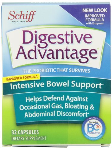 Digestive Advantage Intensive Bowel Support Probiotics Dietary Supplement 32 Count