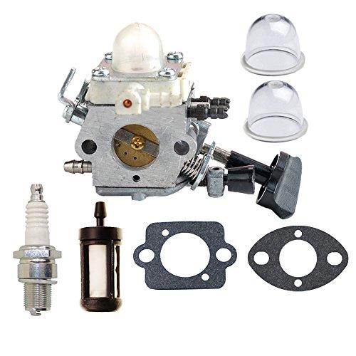 HIPA C1M-S261B Carburetor with Primer Bulb Fuel Filter Spark Plug for STIHL SH56 SH56C SH86 SH86C BG86 BG86CE BG86Z BG86CEZ Blower 4241 120 0616 (Stihl Blower Shredder Vac compare prices)