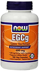 NOW Foods EGCg, Green Tea Extract,  400mg, 180 Vcaps