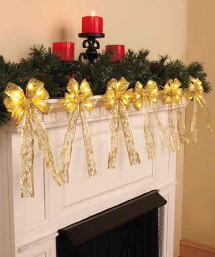 5 Best Lighted Garlands to Wind Up a Staircase