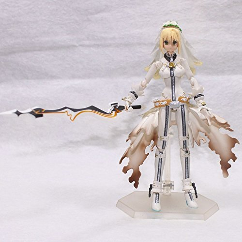 2015 New Brinquedos Anime Fate Stay Night Saber Lily Excalibur Action Figure Model Collection Figure Toys 14Cm