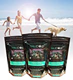 Freeze-Dried Raw Superfood For Dogs (Crunchy Munchy Gourmet Gobbler 14 oz) Raw Meat Organic Dog Food