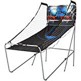 MD Sports 2-Player Electronic Arcade Basketball Game with 8 Game Options