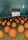 Toland Home Garden Pumpkin Hollow House 12.5 x 18-Inch Decorative USA-Produced Garden Flag