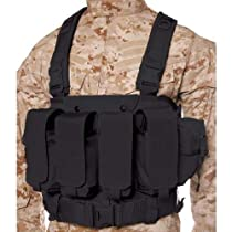 BLACKHAWK! Commando Chest Harness - Black