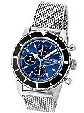 [ブライトリング] BREITLING 腕時計 スーパーオーシャンヘリテージ クロノ ブルー SS A13320[中古品] [並行輸入品]