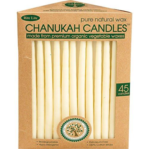 Rite Lite Vegetable Wax Chanukah Candles
