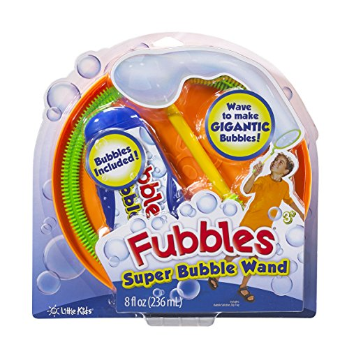 Little Kids Super Fubbles Bubble Wand (Colors May Vary) - 1