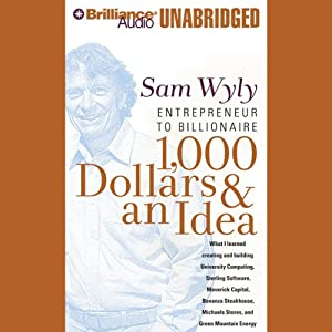 1,000 Dollars & an Idea Audiobook