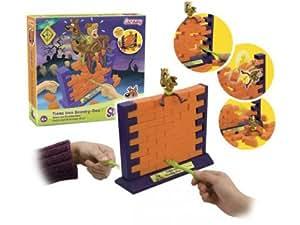 Lansay - 74954 - Jeux de Société - Jeu enfants  - Tiens Bon Scooby Doo