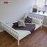 Homestyle4u-Doppelbett-Holzbett-Bett-Bettgestell-140x200-wei-Kiefer-Massivholz-Futonbett