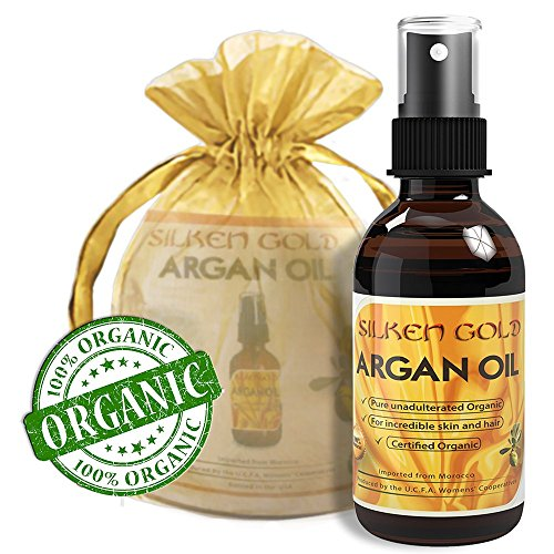 Pure Organic Moroccan Argan Oil - Soothe And Smooth Skin - Soften And Repair Fine Lines And Wrinkles On Face And Body - Reduce Scars - Improve Skin Moisture And Hydration - Strengthen And Repair Nails - Improve Hair Texture, Split Ends And Frizz - Best Co front-144969