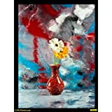 "PixTopper Lively Colours 02 Canvas Poster(Large 44""x44"")"
