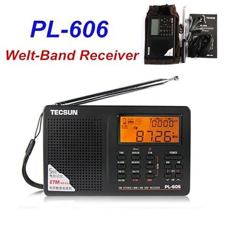 Tecsun PL-606 Digital PLL portable AM ondes courtes / FM avec DSP