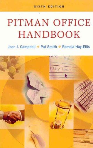 Pitman Office Handbook, Sixth Canadian Edition