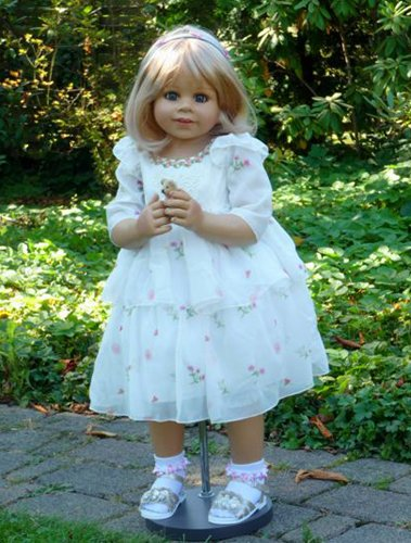 Masterpiece Dolls-Happy Birthday Kate-Blonde With Blue Eyes By Monika Levenig Collectible Doll