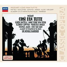 """Cos� Fan Tutte, K.588/Act 2 - """"Una Donna A Quindici Anni"""" - """"Sorella, Cosa Dici?"""""""