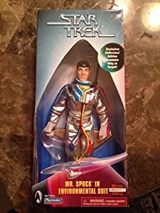 "9"" Mr. Spock in Environmental Suit Numbered Limited Edition Target Exclusive Action Figure As Seen in the Star Trek Original Series Episode ""The Tholian Web."""