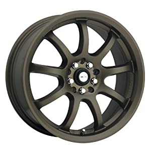 FOCAL – type 169 f-9 – 15 Inch Rim x 6.5 – (5×100/5×4.5) Offset (38) Wheel Finish – matte bronze