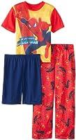 AME Sleepwear Big Boys' Marvel Spiderman 3 Piece Pajama Set