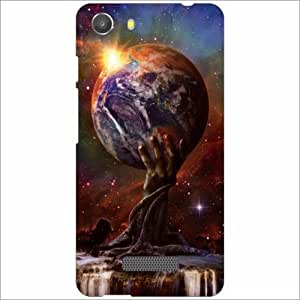 Micromax Unite 3 Q372 Back Cover - Silicon Fancy Designer Cases