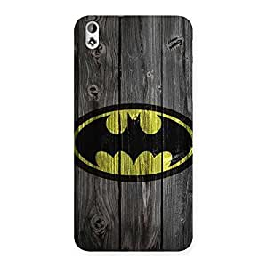 Cute Knight On Wood Print Multicolor Back Case Cover for HTC Desire 816