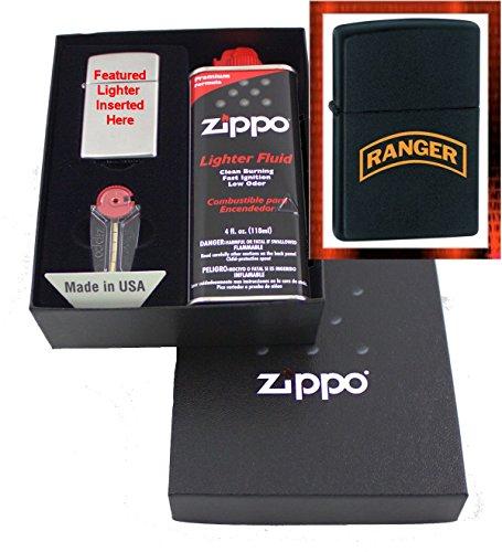 """""""Army Ranger Tab"""" Zippo Lighter Gift Set"""
