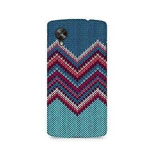 Ebby Knit Print Premium Printed Case For LG Nexus 5