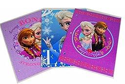 3 Pk, Disney Frozen 2-Pocket Girls Folders