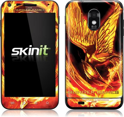 Skinit The Hunger Games Mockingjay Vinyl Skin for Samsung Galaxy S II Epic 4G Touch -Sprint