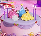 Deco Pac - Disney Princess Garden Royalty Cake Topper