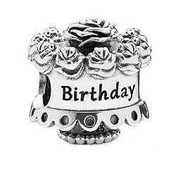 Pandora Happy Birthday Charm in 925 Sterling Silver 791289