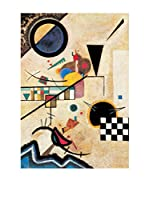 Artopweb Panel Decorativo Kandinsky Solidi In Contrasto 1924 - 100x70 cm Multicolor