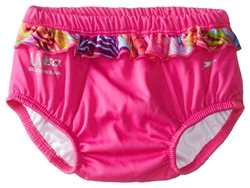 Speedo Unisex-Baby Newborn Swim Diaper, Pink, X-Large front-27080