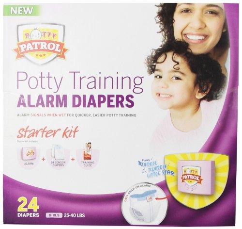Potty Patrol Girls Starter Kit, 24 Count