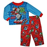 Thomas The Tank Engine Infant Toddler Flannel Pajamas