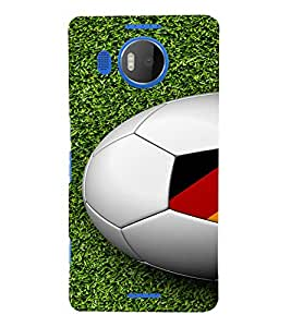PrintVisa Sports Football Germany Design 3D Hard Polycarbonate Designer Back Case Cover for Nokia Lumia 950 XL