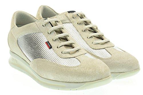 Scarpe Callaghan argento pelle 87165 37 Argento