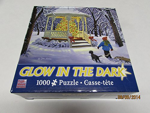 Christmas Magic Glow in the Dark 1000 Piece Puzzle